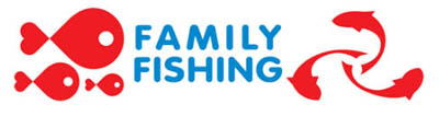 family fishing logo